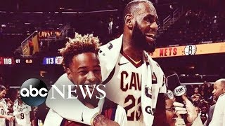 Download LeBron James opens a school for at-risk kids in his hometown Video