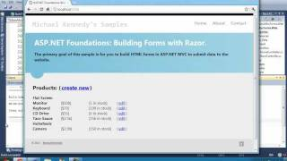 Download Building ASP MVC Forms with Razor (ASP MVC Foundations Series) Video