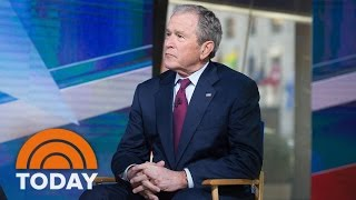 Download George W. Bush On President Trump, Putin, Religious Freedom, Immigration (Exclusive) | TODAY Video