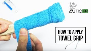 Download How to: Wrap a Badminton Racket with Towel Grip - YumoTube Video