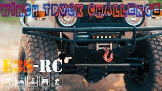 Download E3S-RC Truck - RC4WD - Winch Truck Challenge - Toyota Hilux Vs FJ45 - DJI Mavic Pro Video