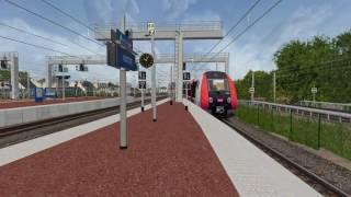 Download [ORTS] Circulations en gare de Pontoise Video