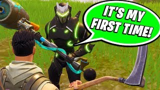 Download I FOUND THE WORST FAKE NOOB ON FORTNITE!! (HE HAS 400 WINS!) Video
