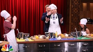 Download Tonight Show MasterChef Junior Cook-Off with Gordon Ramsay Video