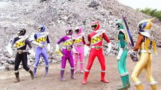Download Power Ranger Dino Super Charge | Los rangers se reunen y luchan contra Snide e Iceage - Capitulo 1 Video