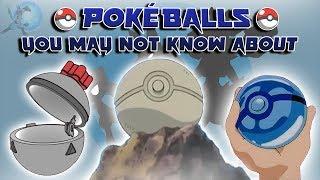 Download Pokéballs That Aren't in the Pokémon Video Games Video