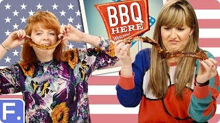 Download Irish People Try American BBQ Video