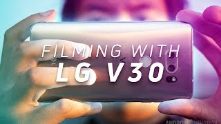 Download Filming with the LG V30 Video