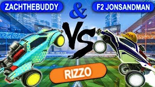 Download CHALLENGING A ROCKET LEAGUE PRO TO A 1V2 Video