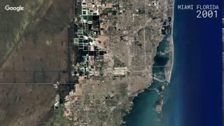 Download Google Timelapse: Miami, Florida Video