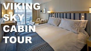 Download Viking Sky Cruise Ship Cabin Tour: No. 4015 Video