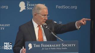 Download WATCH: Attorney General Sessions addresses The Federalist Society's 2017 National Lawyers Convention Video