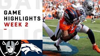Download Raiders vs. Broncos Week 2 Highlights | NFL 2018 Video