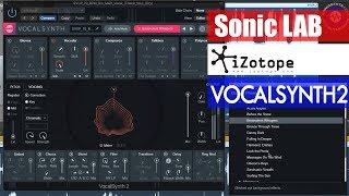 Download Sonic LAB: iZotope Vocalsynth 2 Demo Video