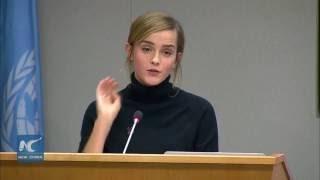 Download Emma Watson' full speech at UN on Sept 20,2016 Video