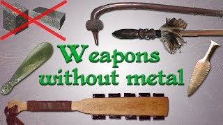 Download Weapons without metal: Far from primitive! Video