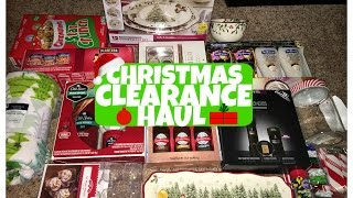 Download HUGE! After Christmas Clearance Haul Video