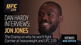 Download Jon Jones at his most candid | He met Dan Hardy to talk Cormier, heavyweights and Adesanya Video