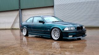 Download The BMW E36 gets new wheels! Video