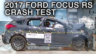 Download 2017 Ford Focus RS Frontal Crash Test Video