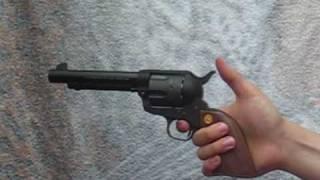 Download (Airsoft) Revolver Ocelot's gun : the Colt S.A.A. Video