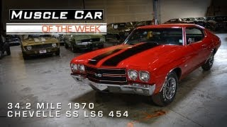 Download Muscle Car Of The Week Video #8: 34.2 Mile 1970 Chevelle SS LS6 Video