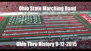 Download Ohio State Marching Band ″Ohio Thru History″- Halftime Show vs. University of Hawai'i 9-12-2015 Video