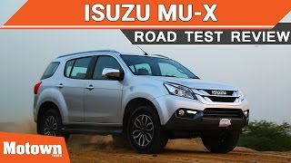 Download 2017 Isuzu mu-X | First Drive | Motown India Video