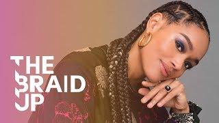 Download Stitch Braids with Zigzag Parts | The Braid Up | Cosmopolitan Video