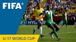 Download Highlights: Brazil v. Nigeria - FIFA U17 World Cup Chile 2015 Video