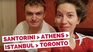 Download Our Trip to Europe is Over! Greece to Canada travel vlog Video
