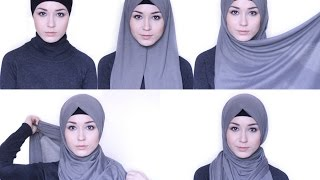 Download HIJAB TUTORIAL Everday simple style @NABIILABEE Video
