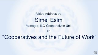 Download Simel Esim Cooperatives and Future of work Video