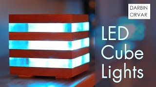 Download LED Acrylic & Wood Cube Lights Video