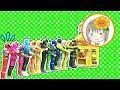 Download キュウレンジャー エグゼイド おもちゃ 芋虫 うんち しゅつどうまえに水分補給 Video
