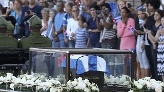 Download Cuba bids farewell to Castro as ashes are taken to final resting place Video