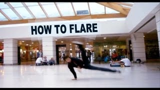 Download How to Flare - Breakdance Tutorial by KAIO Video