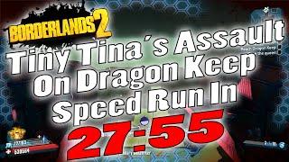 Download Borderlands 2   Tiny Tina DLC UVHM Speed Run In 27:55 Video