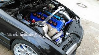 Download E36 Coupe M50b25nv with Garrett GT3582R HF First Run; Turbo Tom performance Video