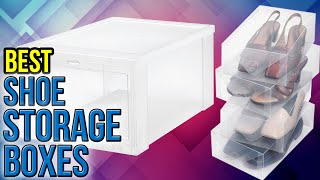 Download 8 Best Shoe Storage Boxes 2017 Video