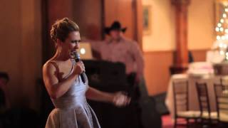Download Maid of Honor sings and dances to Michael Jackson's Thriller - Wait or fast forward to the END! Video