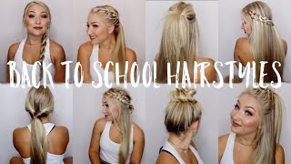 Download 12 Back to School Hairstyles! | Under 5 Minutes Video