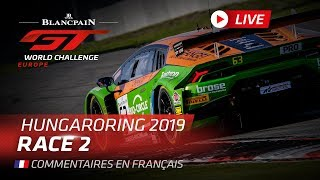 Download RACE 2 - HUNGARY - BLANCPAIN GT WORLD CHALLENGE EUROPE 2019 - FRENCH Video