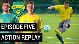 Download EPIC GOAL RE-CREATION CHALLENGE! - WEMBLEY CUP 2016 #5 feat. F2 Freestylers, Manny & Daniel Cutting Video