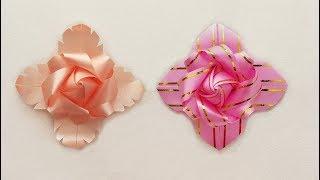 Download DIY ribbon art : พับริบบิ้นเหรียญโปรยทานอย่างง่าย Video