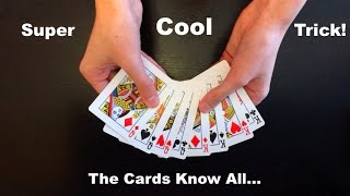 Download ″Think Of A Card″ AMAZING EASY Card Trick Revealed! Video