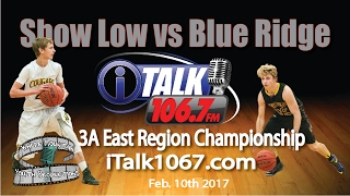 Download Show Low vs Blue Ridge 3A East Championship Game High School Basketball Full Game Video