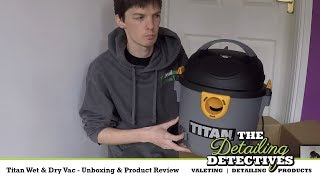 Download Titan Wet & Dry Vac - Unboxing & Product Review Video