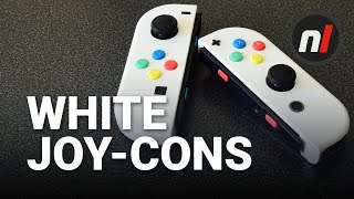 Download White Joy-Cons for Nintendo Switch - $20 Easy Custom Joy-Cons Without Painting Video