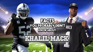Download 15 AWESOME Facts You Probably Didn't Know About Khalil Mack Video